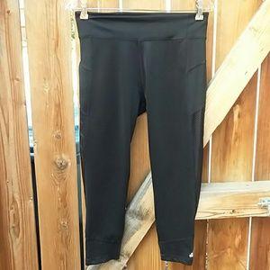 Adidas climalite cropped leggings capris medium